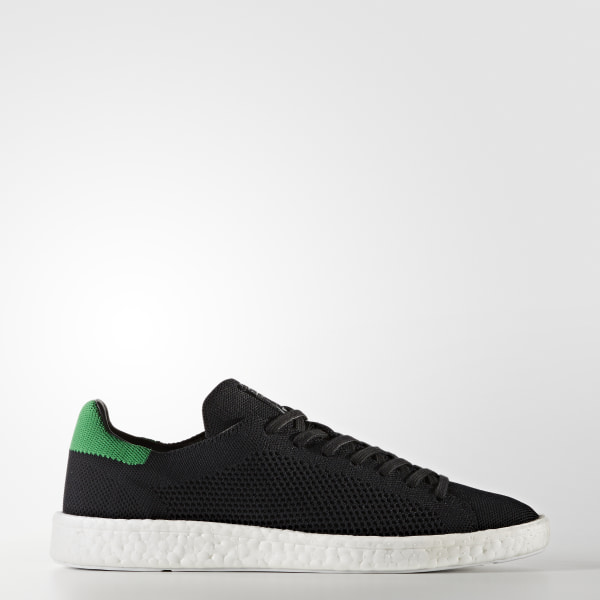 Stan Smith Boost Primeknit Shoes Core Black   Core Black   Cloud White  BZ0095 1acac3085