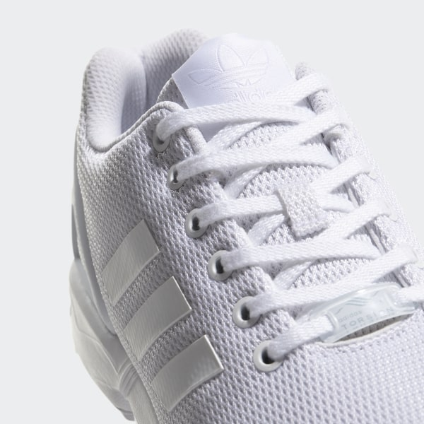 76e1cac0b42512 ZX Flux Shoes Footwear White Clear Grey S32277