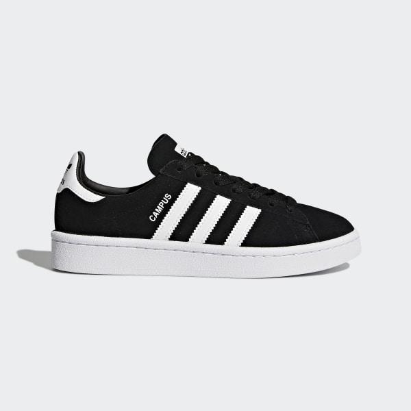 60cf3ca7d8a Sapatos Campus Core Black   Footwear White   Cloud White BY9580