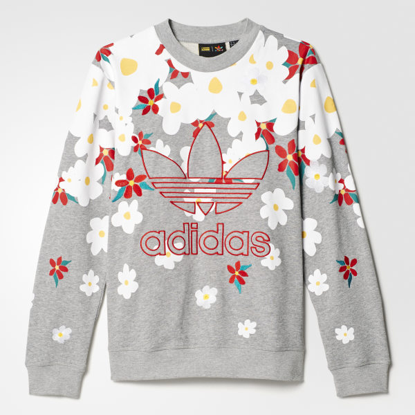 5915dca4f adidas Pharrell Williams Kauwela Sweatshirt - Grey