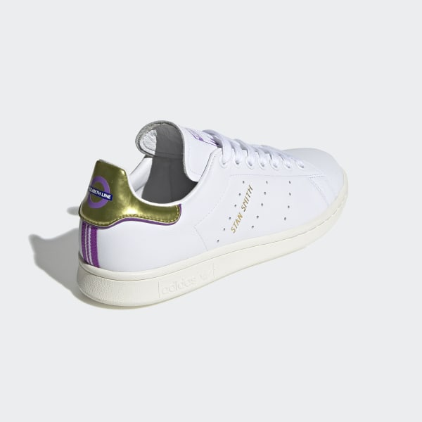 ada57628e0a2 Originals x TfL Stan Smith Shoes Ftwr White   Off White   Gold Met. EE7279