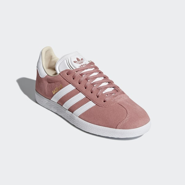 another chance 59262 bec08 Gazelle Shoes Ash Pink  Cloud White  Linen CQ2186