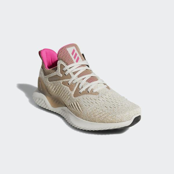 83d7fbd97e136 Alphabounce Beyond Shoes Chalk Pearl   Shock Pink   Trace Khaki B76040