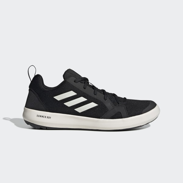 80cf12c6a7fa Terrex Climacool Boat Shoes Core Black   Chalk White   Core Black BC0506