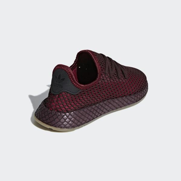 124ce8c941bd0 Deerupt Runner Shoes Collegiate Burgundy   Collegiate Burgundy   Ash Green  B41875