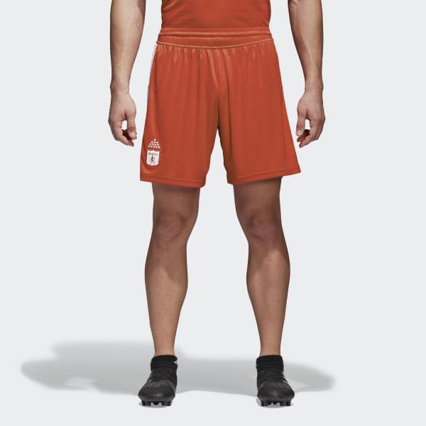Pantaloneta de Local América de Cali RED WHITE CF2296 8886f185c75ec