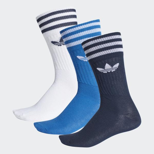adidas Ponožky Crew – 3 páry - vícebarevná  3b0d25ad93