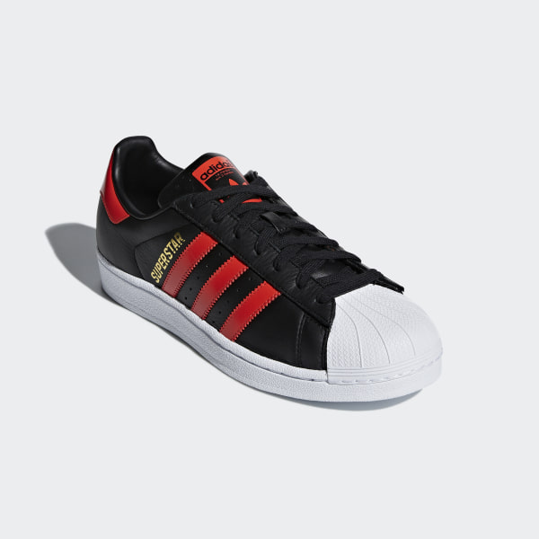 Superstar Shoes Core Black / Bold Orange / Cloud White B41994