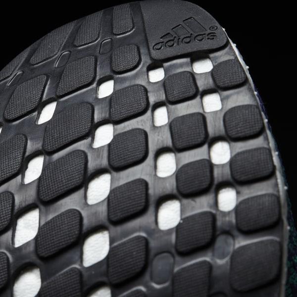 d8d9388b2dc46 PureBOOST X Shoes Plum   Core Green   Cream White BY1970