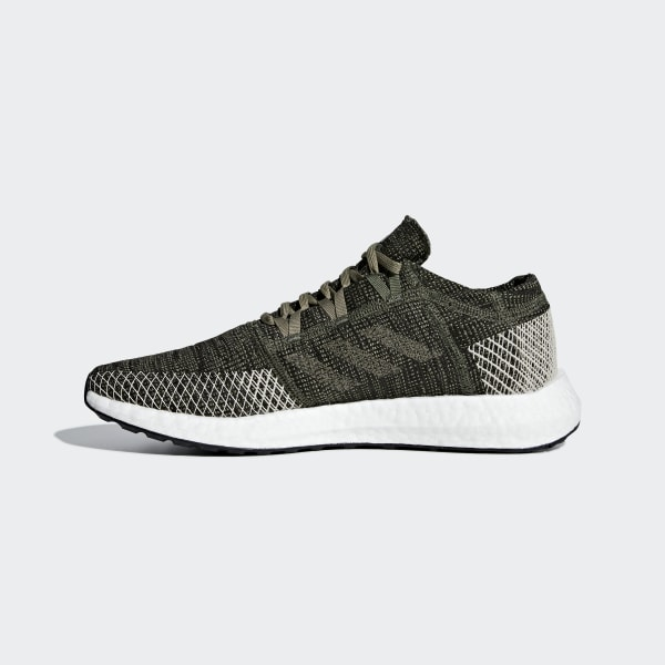 4d9c0a0f10bba Pureboost Go Shoes Base Green   Trace Cargo   Clear Brown AH2325