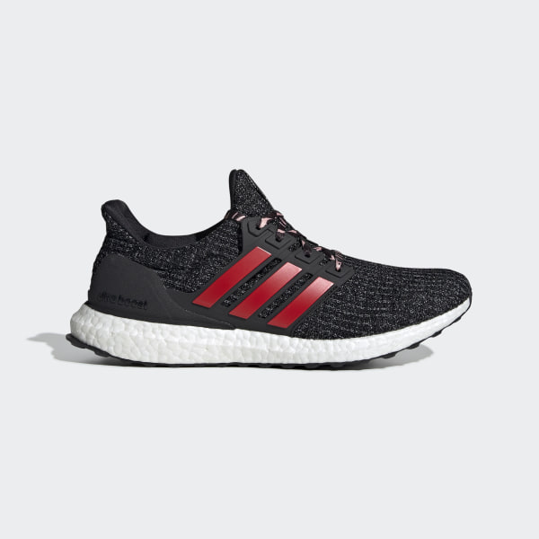 78a4a891d Ultraboost Shoes Core Black   Scarlet   Grey Three F35231