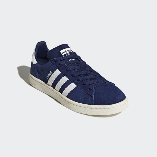 61b2bc363 Campus Shoes Dark Blue   Cloud White   Chalk White BZ0086