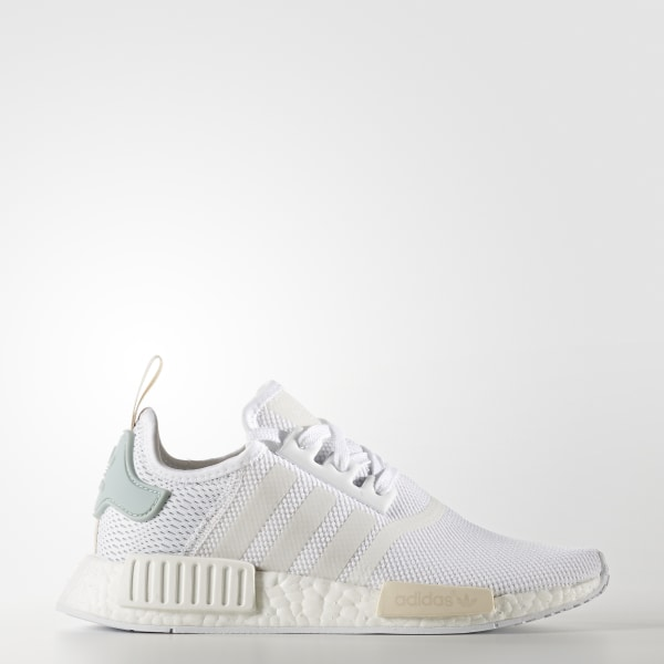 finest selection 33851 79c85 Zapatillas Originals NMD R1 Mujer FTWR WHITE FTWR WHITE TACTILE GREEN BY3033
