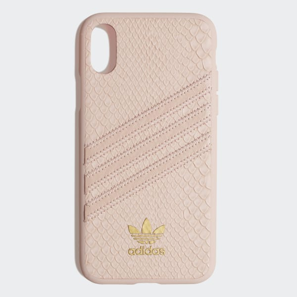 Snake Molded Case iPhone X Clear Pink   Gold Metallic CK6215 407087c4ca565