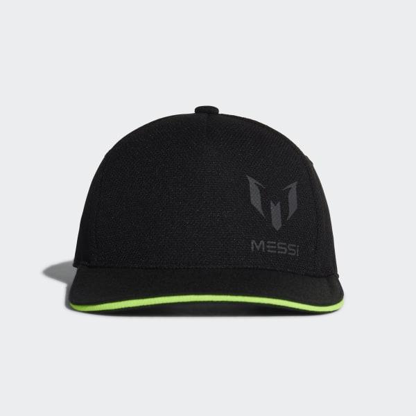 Cappellino Messi Black   Solar Green DJ2254 a0eee249e603