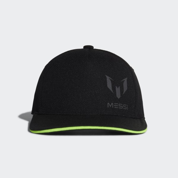 1d74253345a26 Gorra Messi BLACK SOLAR GREEN DJ2254