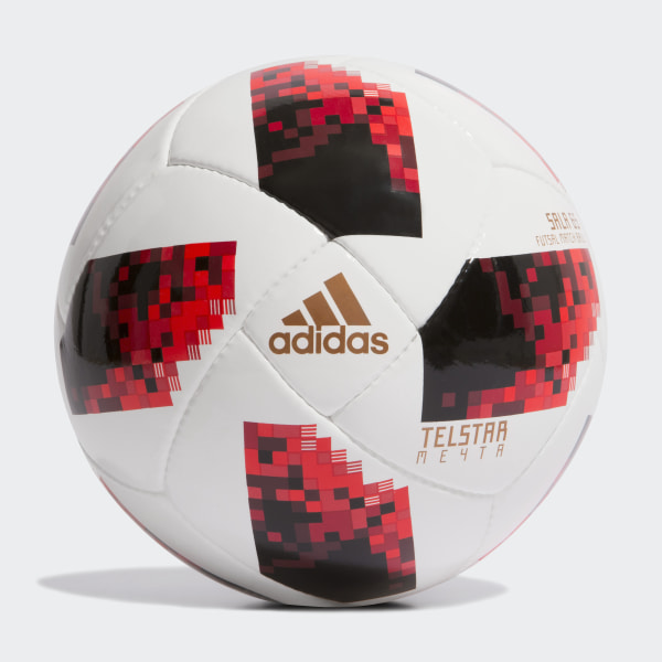 aba607ac7f Bola FIFA World Cup Knockout Futsal WHITE SOLAR RED BLACK CW4693