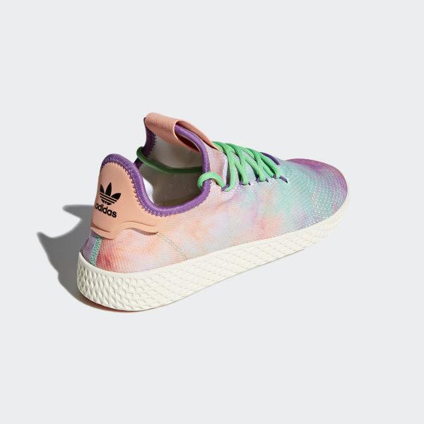 ca854ea58 Pharrell Williams Hu Holi Tennis Hu MC Shoes Chalk Coral   Black   Black  AC7366