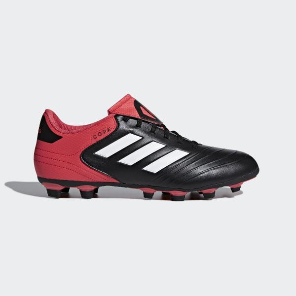 Botines de fútbol 18.4 Terreno Flexible CORE BLACK FTWR WHITE REAL CORAL  S18 CP8960 3b6116e79f82b