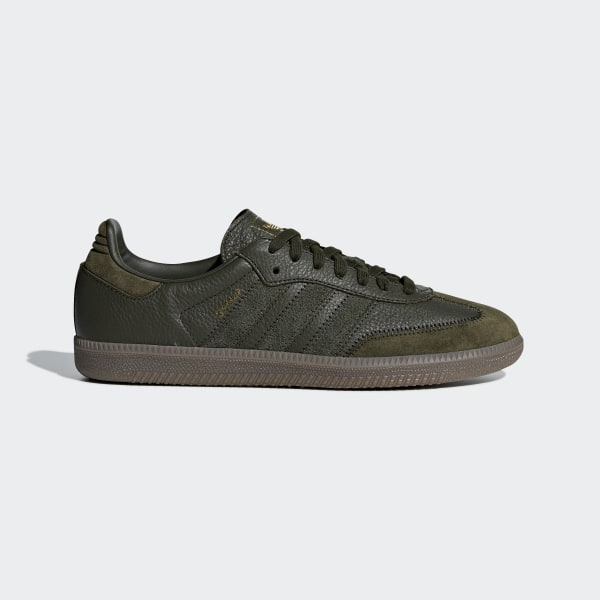 9435824aae8a Samba OG FT Shoes Night Cargo   Night Cargo   Gold Met. BD7526