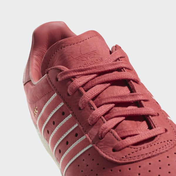 7f1e886130d02 Oyster Holdings adidas 350 Shoes Trace Scarlet   Chalk White   Gold  Metallic DB1975