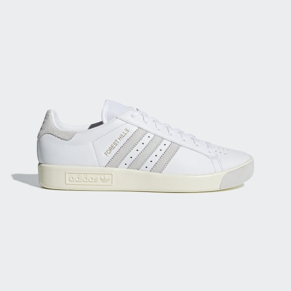 check out 09374 90e64 Forest Hills Shoes Cloud White  Cream White  Crystal White D96779