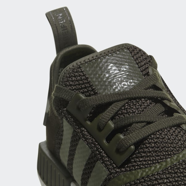 e908d0e0bace4 NMD R1 Shoes Night Cargo   Base Green   Semi Frozen Yellow CQ2414