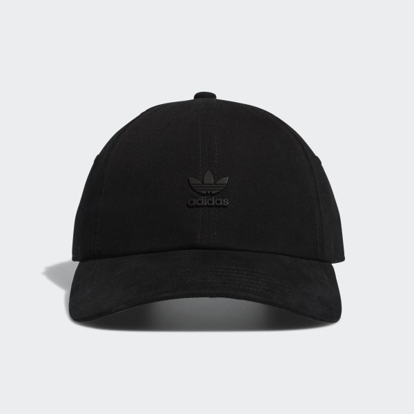 67f6350928f adidas Relaxed Metal Strap-Back Hat - Black