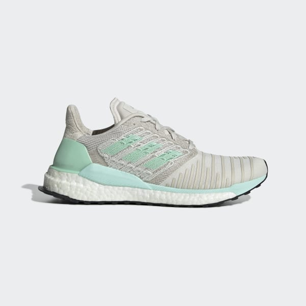 release date: 5e9dd 6c366 SolarBoost Shoes Raw White   Clear Mint   Active Purple D97432