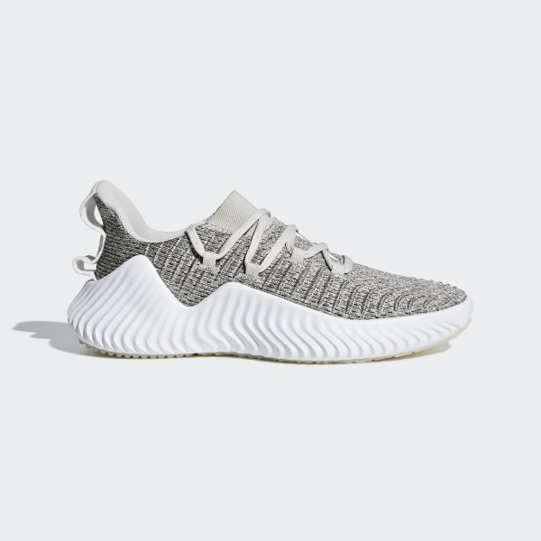ea4476a3d Alphabounce Trainer Shoes Raw White   Cloud White   Grey Three BB7242