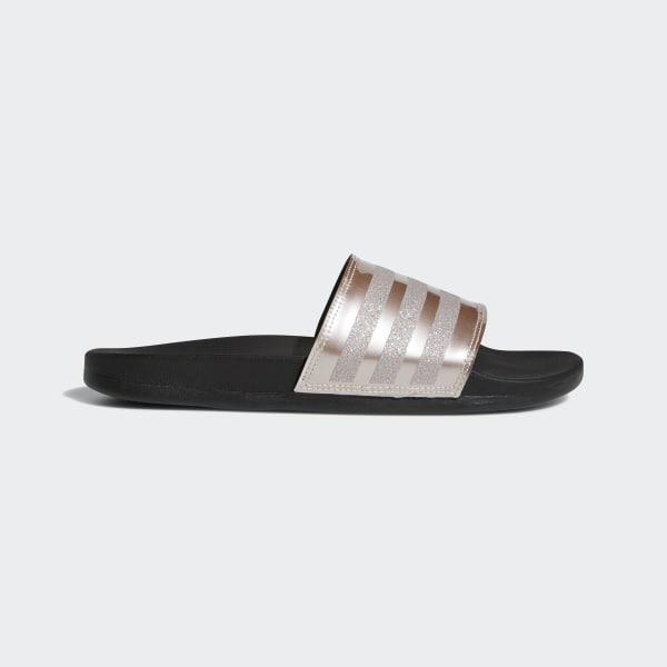 Pantofle Adilette Cloudfoam Plus Explorer Silver   Vapour Grey Met.   Core  Black B75679 b9f75135056