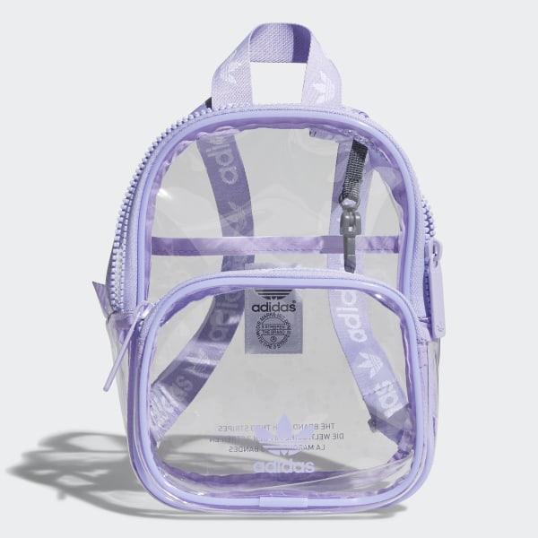 8fb58de795 Clear Mini Backpack Light Purple CL6149