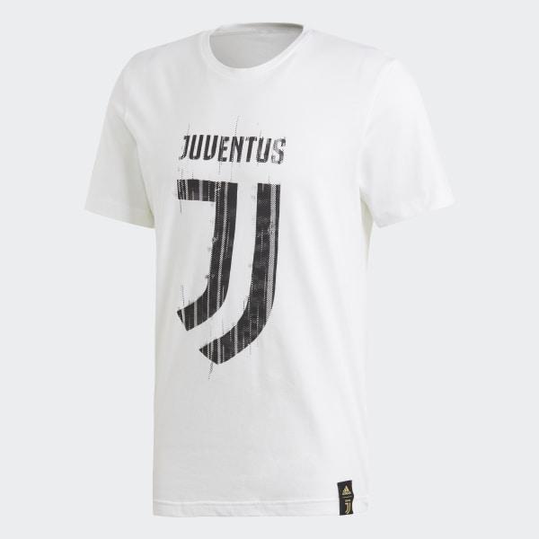 adidas Juventus DNA Graphic Tee - White  950cc50a5922
