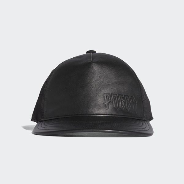adidas Paul Pogba Flat-Brim Hat - Black  cf62093bb4d