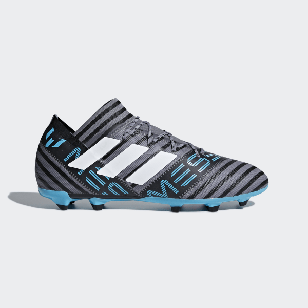 new product 393b8 03b9f Nemeziz Messi 17.2 Firm Ground Boots Grey Ftwr White Core Black CP9031