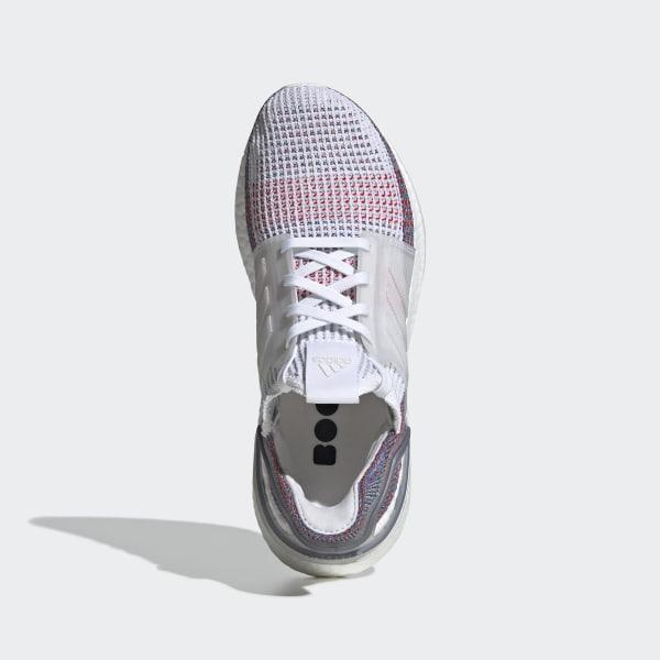 buy online 88720 c587d UltraBOOST 19 W Ftwr White  Crystal White  Blue B75877