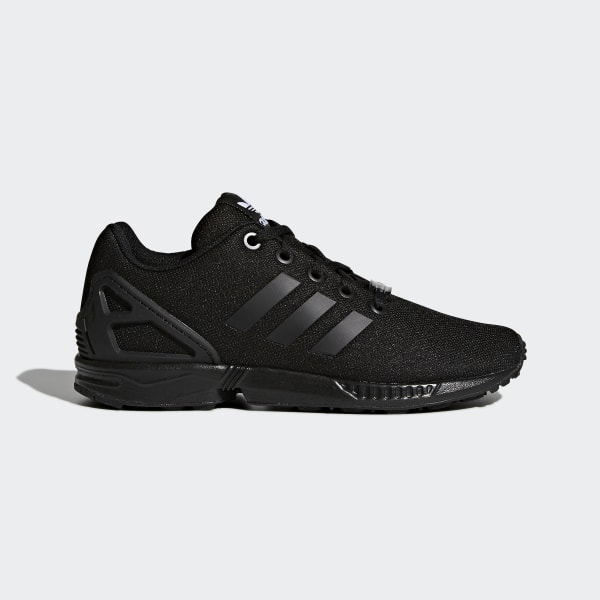 1760d8a1c ZX Flux Shoes Core Black   Core Black   Core Black S82695