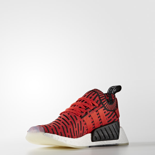 d61c098029184 NMD R2 Primeknit Shoes Core Red   Core Red   Cloud White BB2910