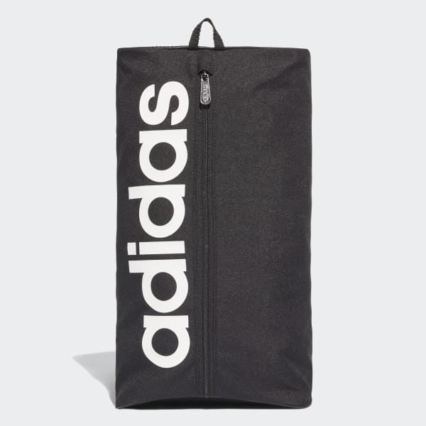 Linear Core Shoe Bag Black   Black   White DT4820 d0d95b04c7c9c