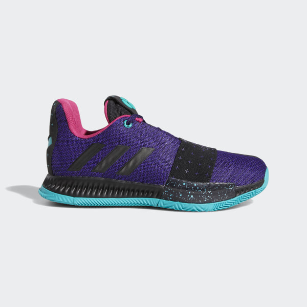 8fab0a08d9d Harden Vol. 3 Shoes Collegiate Purple   Core Black   Light Aqua AC7617