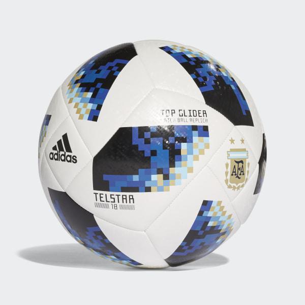 adidas Pelota de fútbol Argentina FIFA World Cup 2018 - Blanco ... d4f998cc6a858