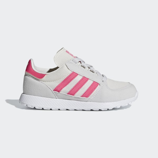 the latest 3ecae 0709d Scarpe Forest Grove Chalk White  Real Pink  Grey One B37748