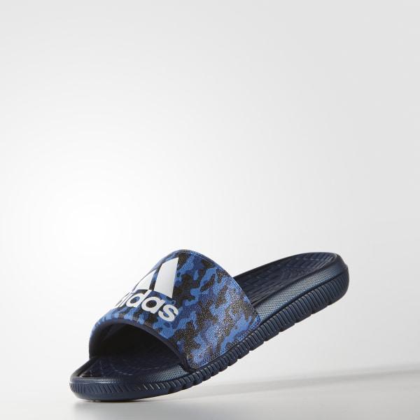 93372fa75 Voloomix Camo Slides Collegiate Navy   Cloud White   Eqt Blue AQ2575