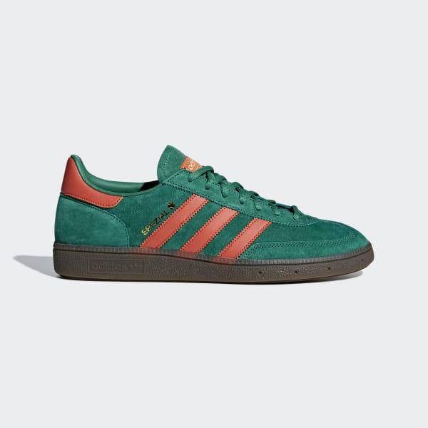 44bf2b9476b Handball Spezial Shoes Bold Green   Raw Amber   Gum BD7620