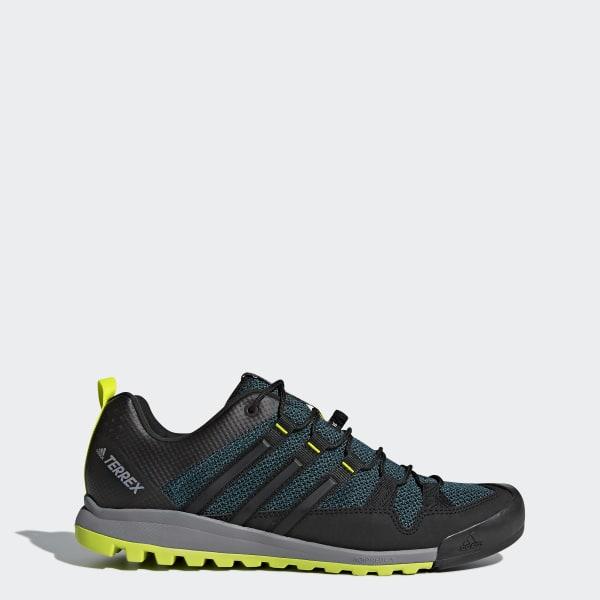 quality design 42122 3f11c Zapatillas adidas Terrex TERREX SOLO MYSTERY GREEN S17 CORE BLACK SEMI  SOLAR YELLOW S80916
