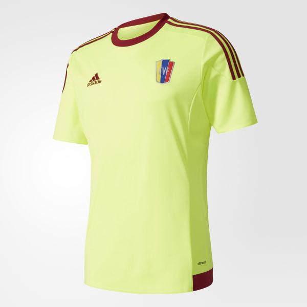 e999c9f19cf7e Camiseta selección Venezuela Visitante SOLAR YELLOW COLLEGIATE BURGUNDY  S08901