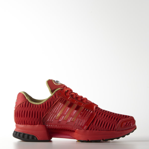 a8d4246e0 Climacool 1 Shoes Red   Gold Metallic   Core Black BA8606