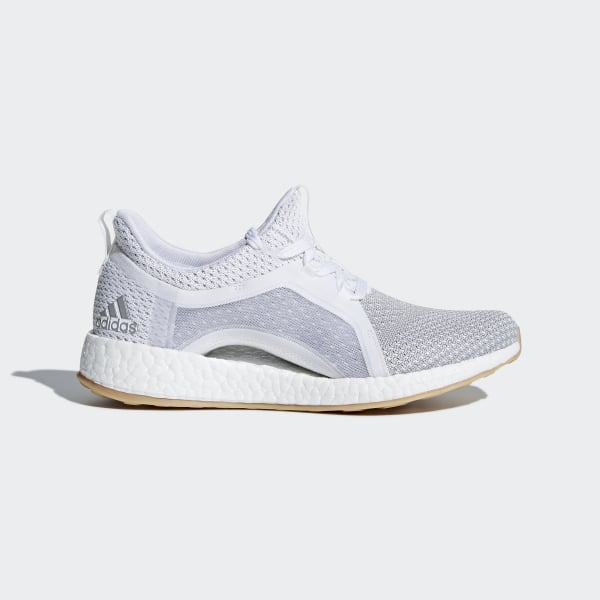 Sapatos Pureboost X Clima Ftwr White Silver Metallic Grey Two BB6089 327e9eb752352