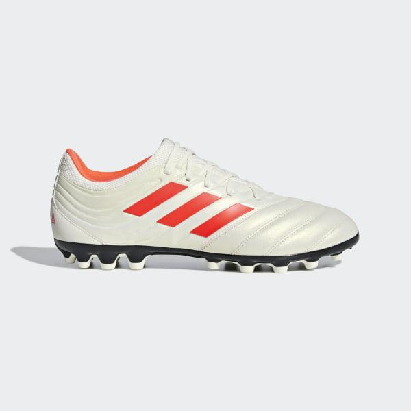 half off 42e05 7607b Copa 19.3 Artificial Grass Boots Off White  Solar Red  Core Black F35776