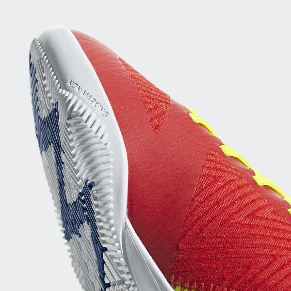 bcfbd770631eb Nemeziz Messi Tango 18.3 Indoor Boots Active Red   Silver Met.   Football  Blue CM8633